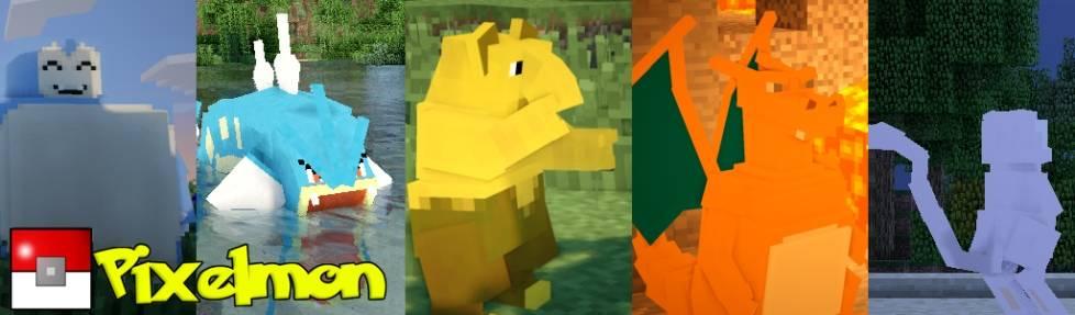 [1.5.2-1.6.2]Pixelmon - покемоны в Minecraft