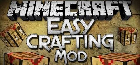[1.5.2] Easy Crafting- Лёгкий крафт !