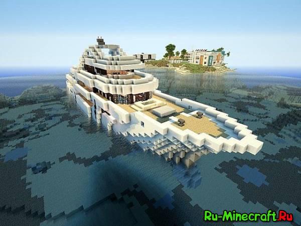 [Map]Luxury MegaYacht-роскошная яхта!