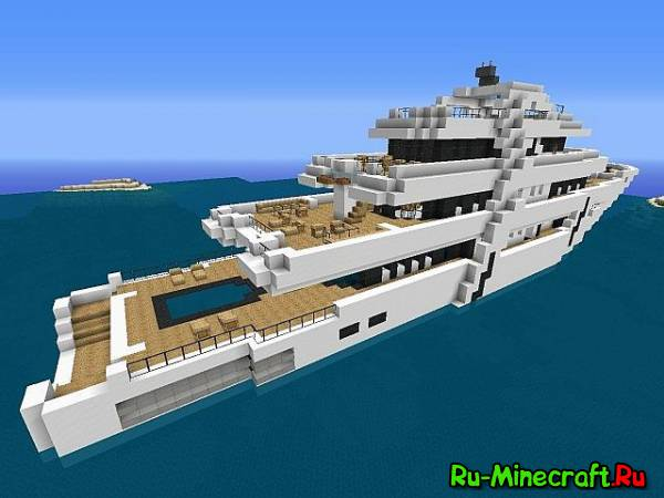 скачать карту для Minecraft яхта - фото 4
