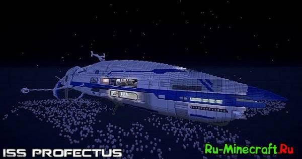 [Map] ISS Profectus-новый космический корабль