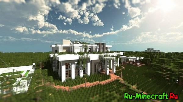 [Map] Villa Villeneuve - Комфортная вилла для Minecraft