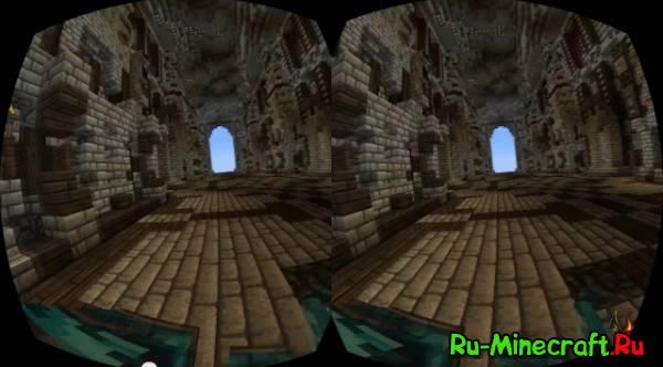 [Video] Oculus Rift and Minecraft - Очки дополненной реальности и minecraft