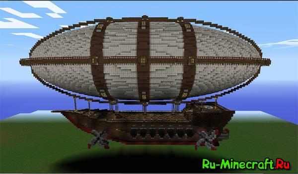[Map] Steampunk Airship - воздушный корабль