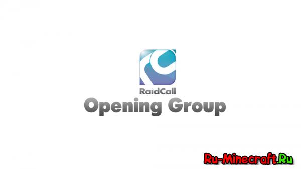 Открытие группы HunterCraft в RaidCall