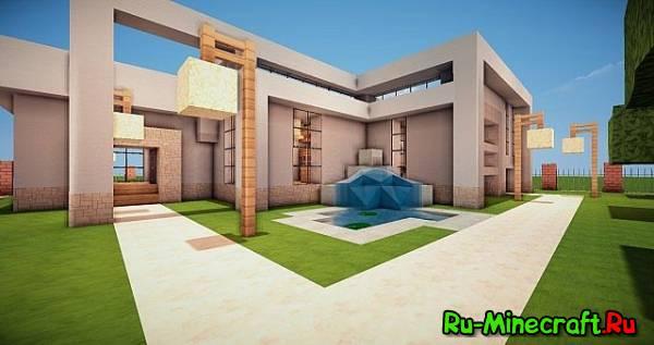 [Map] Fancy Modern House-странный современный дом!