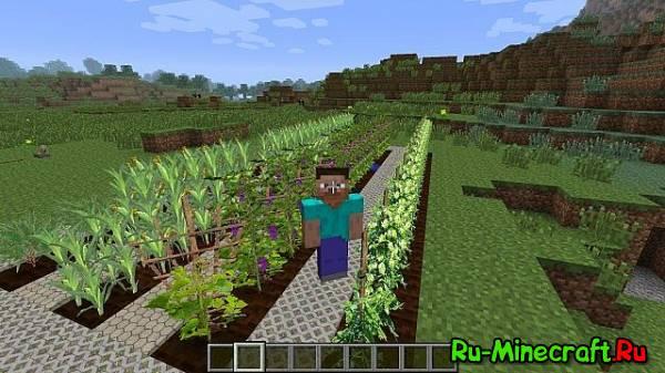 [1.5.2] BetterWorld - Стань фермером