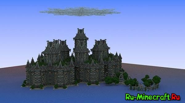 [Map] Ralent Temple - огромный замок!