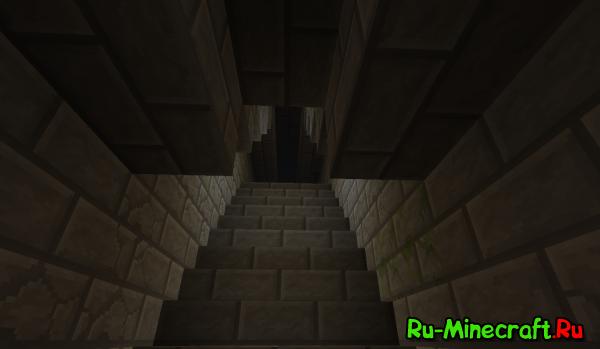 [1.5] Страшный коридор - страшная карта для minecraft