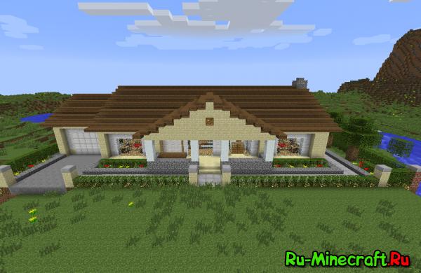 [MAP] Ranch House - интересный домик