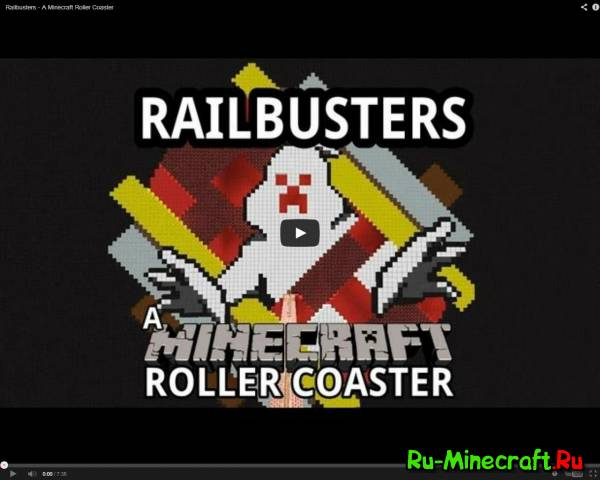[VIDEO] Railbusters - ghostbusters в minecraft