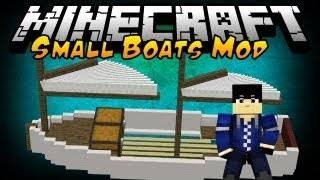 [1.5.2][Forge]Small Boats-новые лодки О_О