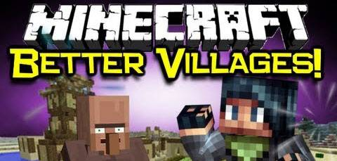 [1.5.2-1.6.2] Village-up Mod - Деревни везде!