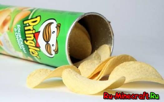 [1.5.2] Pringles Mod - делаем чипсы