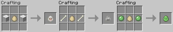 Как сделать яйцо жителя в майнкрафте