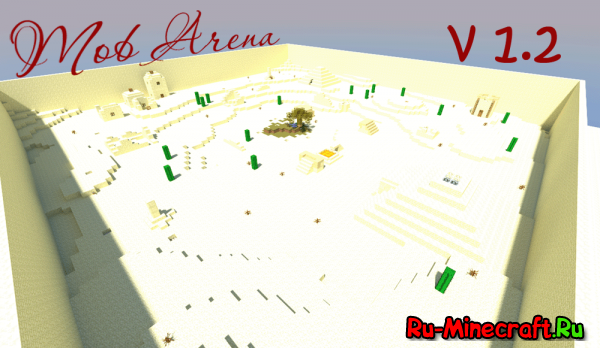 [Map][+1.5] The desert MobArena