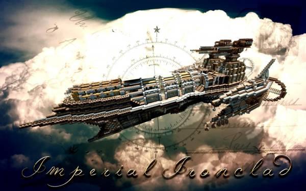 [Map] Imperial Ironclad Airship - Огромное воздушное судно