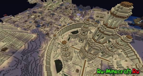 big castle churh карта для майнкрафт пе скачать #8