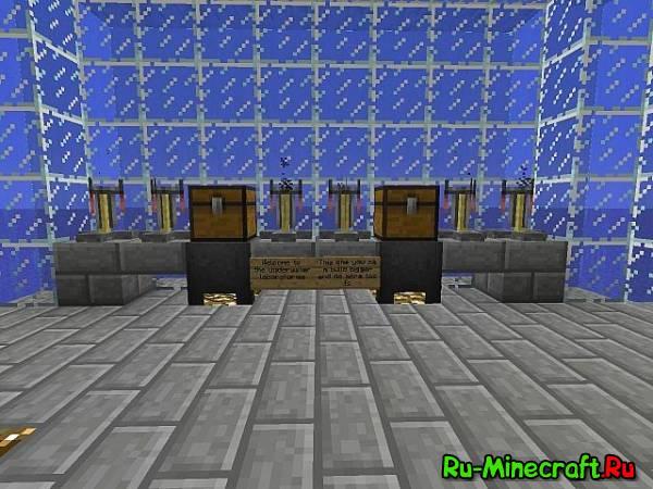 [MAP]Underwater Laboratories-подводная лаборатория!