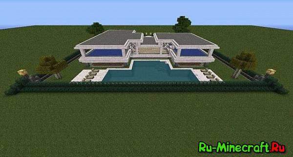 [MAP] LAV's Modern House - домик в модерн-стиле!