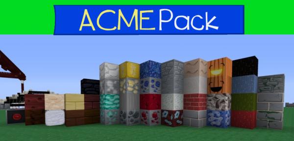 [1.5][128-512x] ACME PACK - замечательный, красивый текстур пак!