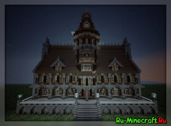 [1.5.2][map]Gothic Town Hall