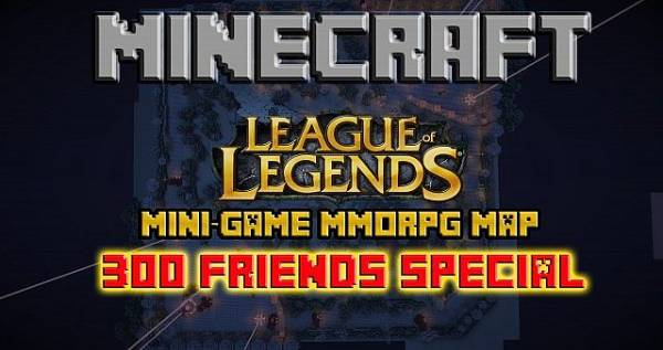 League of Legends - карта из LoL [1.5.2][Map][Mini-Game]