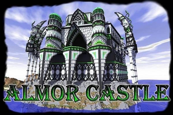 [1.5.2][Map][Castle] Almor Castle - красивый и большой замок!