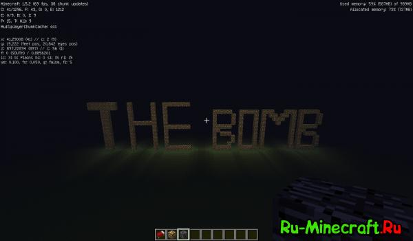 [Map][1.5.2] The Bomb! - карта с опасностями