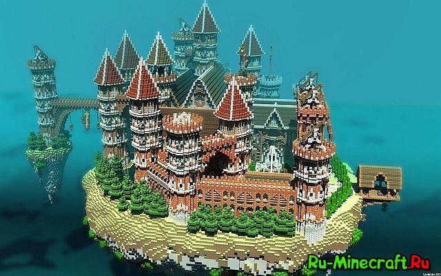 Очень красивая карта в minecraft - Arabius City