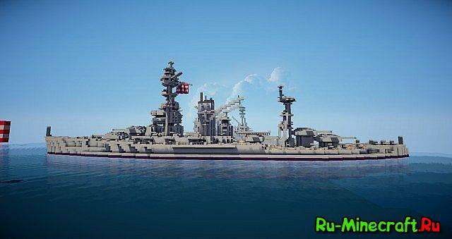 Карта Майнкрафт Морской Бой Скачать - фото 11