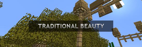 [1.6.2][64X] Traditional Beauty - Улучшенные текстуры стандартных текстур игры