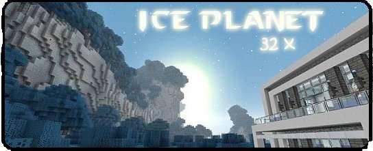 [ResoucePack][32x][1.6.X]Ice Planet - почувствуй холод! Бррр...