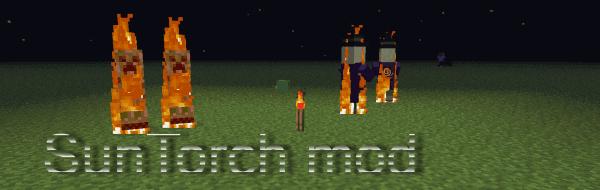 [1.6.2] Suntorch -Новые факелы в Minecraft!