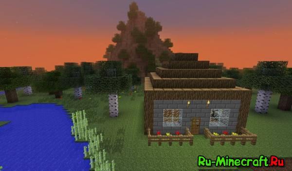 [Map] Flying House - летающий дом