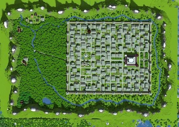 [Map] The City of Arthor - огромный город!