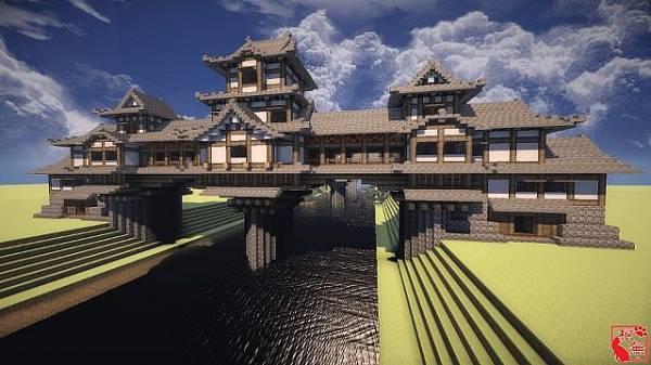 Imaginary Castle Bridge - огромный мост в китайском стиле! [Map]