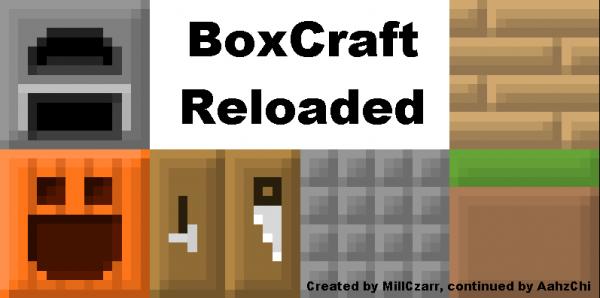 [1.6.1][x16] BoxCraft - Коробки захватили мир!