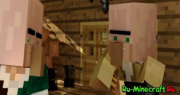 [Video] Minecraft: Деревенщина Джек - Новое задание - анимационный серил Minecraft.