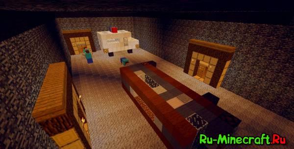 скачать карту смешарики для Minecraft - фото 10