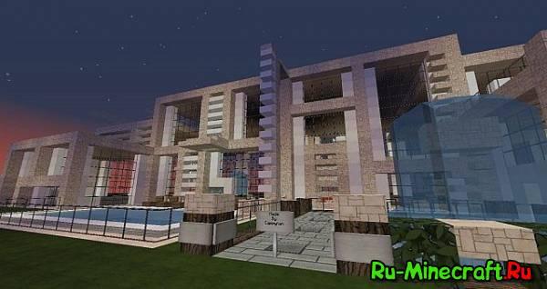 [Map] Modern Mansion House - Домик в стиле modern