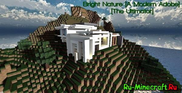 [Map] Bright Nature - Домик в модерн стиле