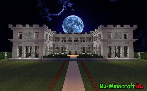[1.6+][Map] Rosecliff Mansion - красивый особняк!