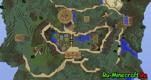 [Map][1.6.2]Tower wow - Небольшая деревушка