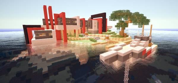 [map] Modern new - Дом в стиле Модерн!