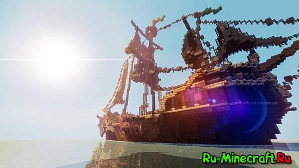 [Map] Pirates Ship - Пиратский корабль