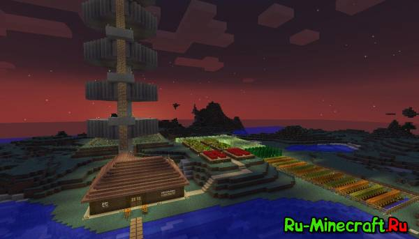 [Map] Nice Minecraft House - интересная карта с фермой