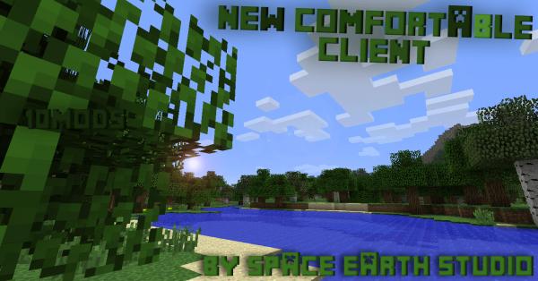 [1.6.2][Client] New Comfortable Client v1.1.3 - Хороший клиент для выживания, и игры на сервере!