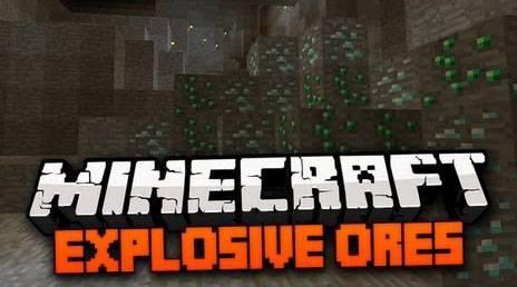 [1.6.2] ExplosiveOresMod - Взрывающаяся руда