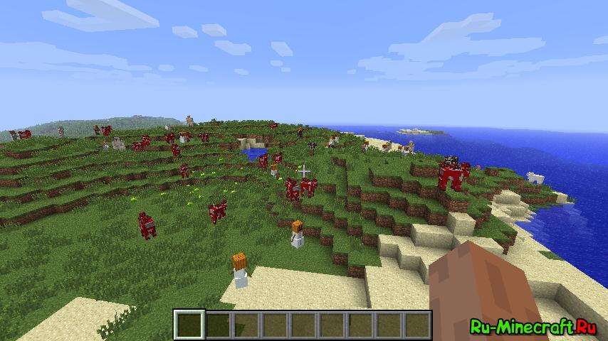 Скачать Ore Spawn Mod для Minecraft [1.7.10]